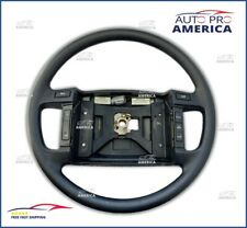 NEW GENUINE 90-1993 Ford Mustang GT BLACK Steering Wheel W/ CRUISE CONTROL RARE!