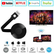 Miracast WiFi HD 1080P TV Media Video Streamer For Google Chrome Android IOS Win
