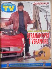 TV Sorrisi e Canzoni n°15 1994 Julia Roberts Johnny Dorelli + inserto [D43]