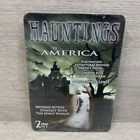 Hauntings in America, New Sealed 2 Disc DVD Set In Collectors Tin Free Shipping