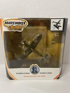 Matchbox Collectibles WW2 die cast 1:72 FIGHTER PLANE MESSERSCHMITT