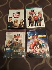 Big Bang Theory Seasons 1, 2 (opened), 3 & 5 (sealed) DVD lot / set - Region 2