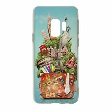 For Samsung Galaxy S9 Silicone Case Travel Holiday Adventure - S4742