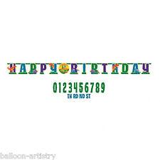 3.2m x 24.5cm Dinosauro Preistorico Festa di Compleanno Aggiungi un'età Lettera Banner Jumbo
