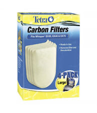 Tetra Whisper EX Carbon Filter Cartridges - Ready to Use, Large, 4-Pack