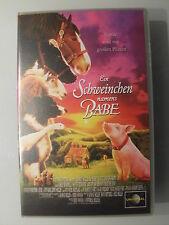 VHS Ein Schweinchen namens Babe - Tapfer und mit großen Plänen   150203