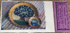 "Peasantries Mary Tiner ""Plum Tree on Terra Cotta"" Tole Painting Pattern Pack NIP"