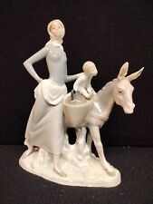 Lladro #4666 Woman With Donkey (Retired)