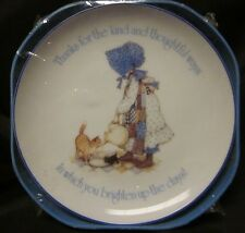 """LASTING MEMORIES PLATE VTG Thanks For Your Thoughtful Ways Free US Ship 6.25"""""""