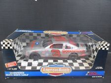 1995 Ertl American Muscle Goodwrench Silver # 3 Dale Earnhardt --1:18th scale