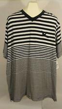 Rocawear 3XL Black / White Striped Polo Shirt NEW!!