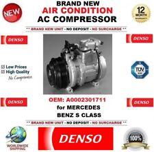 DENSO ARIA CONDIZIONATA COMPRESSORE AC OEM: a0002301711 per Mercedes Benz Classe