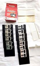 "Computer 3.5"" FLOPPY DISKS 1.44mb 2.0mb Diskettes IBM Formatted HD 3M STAPLES"