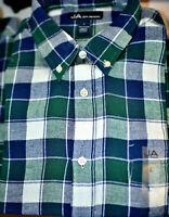 Macy's John Ashford Long-Sleeve Flannel Button-Down Shirt SIZE: M-L-XL-XXL #1108