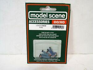 MODEL SCENE OO/HO 5082 LOCO CREW 3 FIGURE SET NOS MOC (K742)