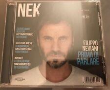 NEK-CD Prima Di Parlare-AUTOGRAFATA-Filippo Neviani-Sigillato