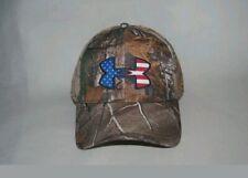 Under Armour Camo Big Flag Logo Snap Back Cap (Realtree Edge) #1300488-991