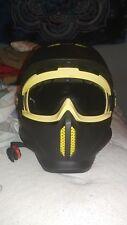 Ruroc RG1 Helm-Größe: M/L (57cm - 61cm) - Snowboard/Skihelm/mit Gogles