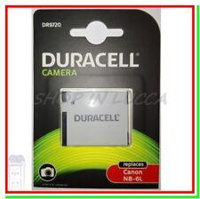 Batteria Ricaricabile DURACELL DR9720 = Canon NB-6L x IXUS 300HS Powershot SX700