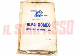 Gaskets Series Kit Engine Alfa Romeo 1600 Giulia Ti Original