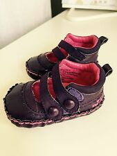 MEXX Purple baby shoe Mary Jane style with straps - 3 months