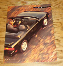 Original 1992 Nissan 240 SX Convertible Foldout Sales Brochure 92