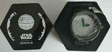 NEW Nixon Star Wars DEATH STAR 51-30 Men's Watch With Gift Box