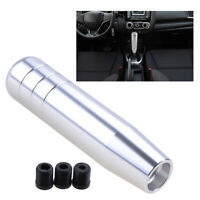 13cm Aluminum Car Manual Speed Shift Knob Gear Shift Shifter Lever Handle Silver