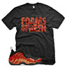New FOAMS TOO FRESH T Shirt for Nike Habanero Red Foamposite One