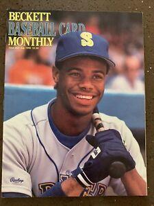 Beckett Baseball Card Monthly #64 July 1990 Ken Griffey Jr. Seattle Mariners MLB