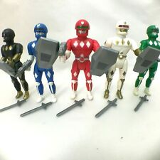 1994 Soma Sonic Rangers Complete Action Figure Lot of 5 WORKING