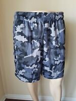 NWT Tek Gear CoolTek Iron Gray Warrior Basketball Shorts Athletic Running XL