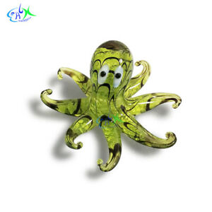 Aquarium Ornament Landscaping Octopus Tropic Fish Decoration for Tank 2.36''