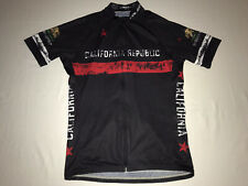 CALIFORNIA REPUBLIC BICYCLE RACING CYCLING JERSEY BY VOLER USA MENS LARGE NWOT!