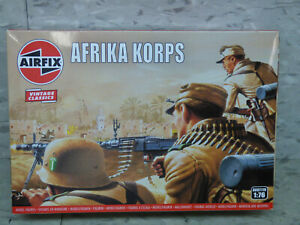 New Box 1/76 Scale Airfix German Afrika Korps Army Infantry Soldiers  Lot#5383K
