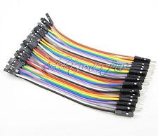 40PCS Dupont wire jumper cables 10cm 2.54MM male to female Jumper Kabel AHS
