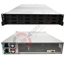 "Synology NAS RX1217RP 19"" Expansionseinheit 12 x 3,5"" SATA LFF 6 x 6TB 3,5"" HDD"