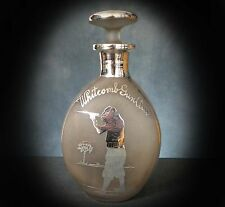 SUPERB QUALITY SILVER OVERLAY SPIRIT DECANTER for the WHITCOMB GUN CLUB