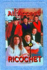 Rare Ricochet Concert Tour All Access Laminate Pass