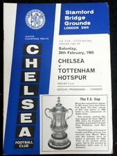 Chelsea v Tottenham Hotspur   FA Cup 4th Round     20-2-1965