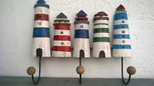Porte manteaux  les phares, en bois et métal, neuf ,longueur 42cm