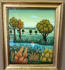 GENERALIC, JOSIP: MASTER ARTIST, Croatian Naive Art, reverse paintings on glass
