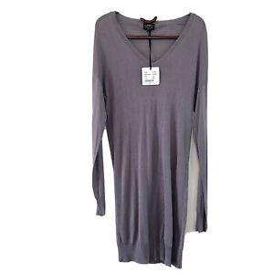 Little Joe Silk Cotton Blend Knit Dress Size S NWT $269