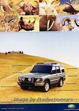 2004 Land Rover Discovery - Original Advertisement Print Art Car Ad J790