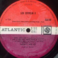 LED ZEPPELIN II  Atlantic 588198  LP RE GF Vinyl VG+ Cover Fair