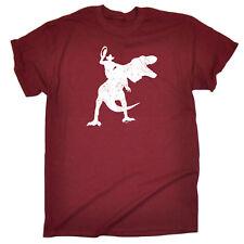 Funny Novelty T-Shirt Mens tee TShirt - Cowboy Riding Trex
