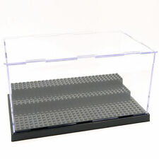 1x Acrylic Display Minifigure Showcase Box Plate Cabinet for Toy Minifigures