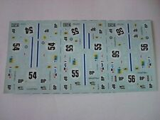 AMR RUF DECALS FERRARI 365 DAYTONA 24h LE MANS 1974 NEW DECALCOMANIA