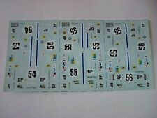 AMR RUF DECALS FERRARI 365 DAYTONA 24h LE MANS 74 DECALCOMANIA