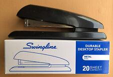 Swingline Desktop Stapler 20 Sheets Capacity Black #64601